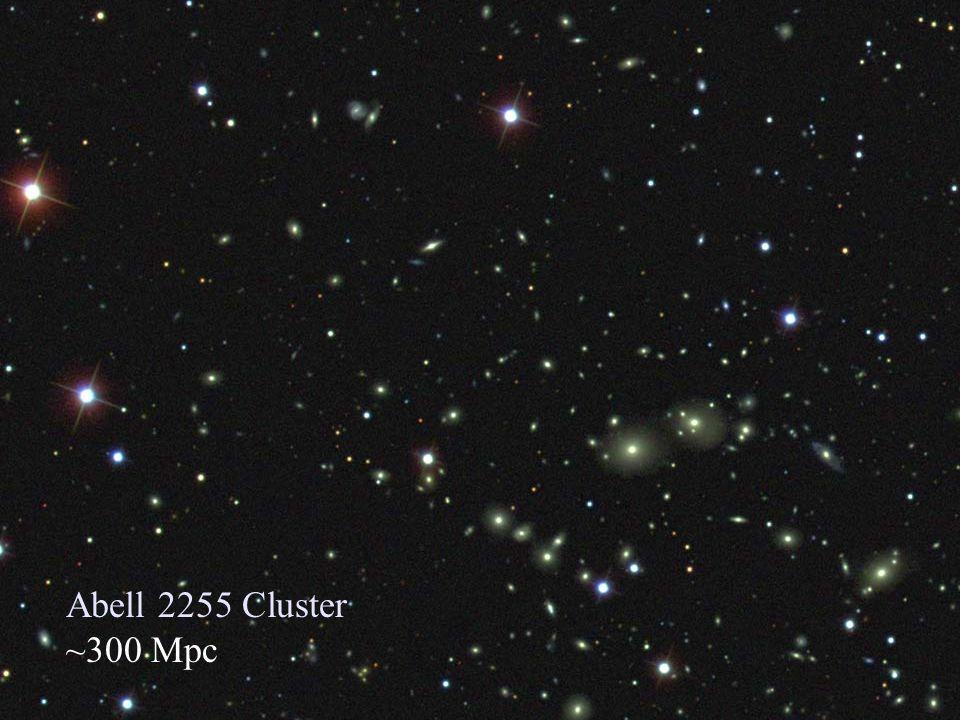 Supernovae : Ω m <1 Filippenko