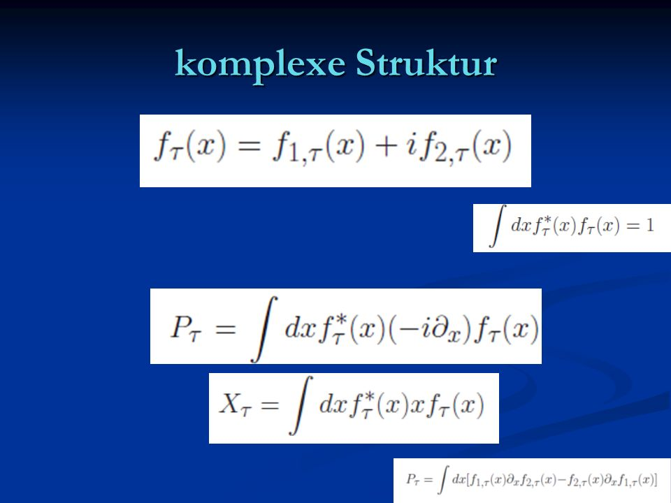 komplexe Struktur