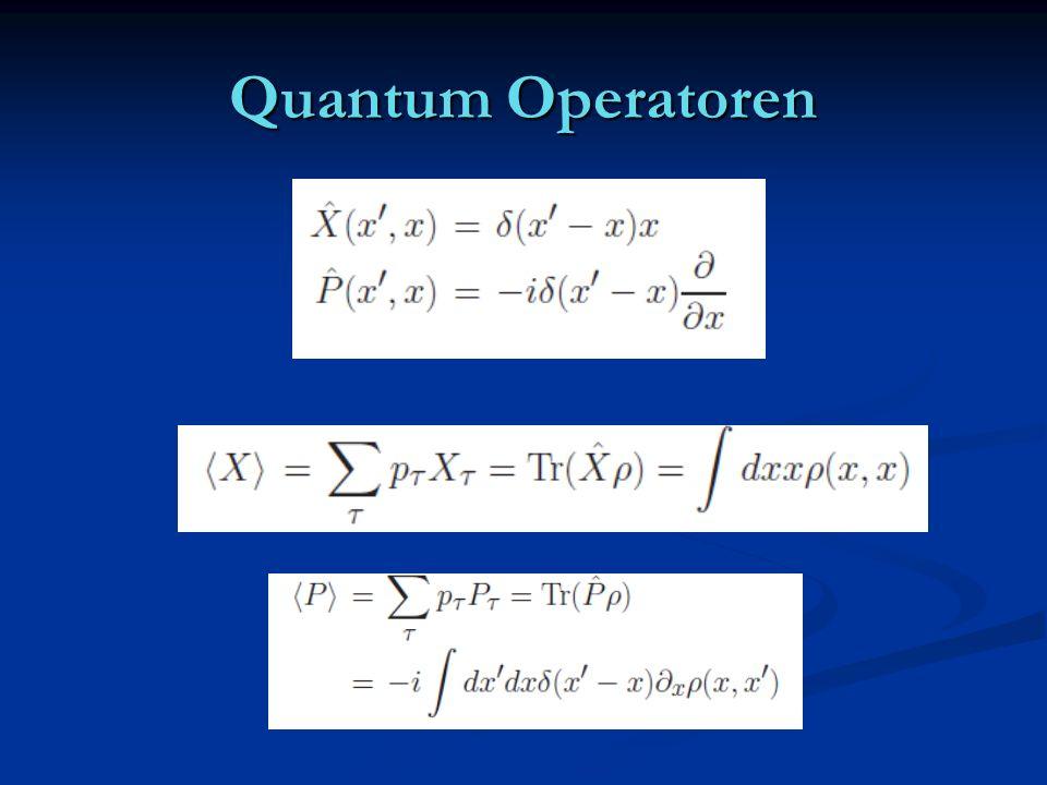 Quantum Operatoren