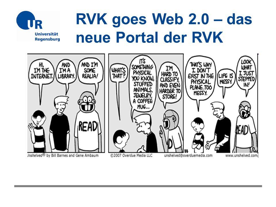 RVK goes Web 2.0 – das neue Portal der RVK