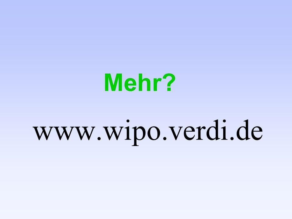 www.wipo.verdi.de Mehr?
