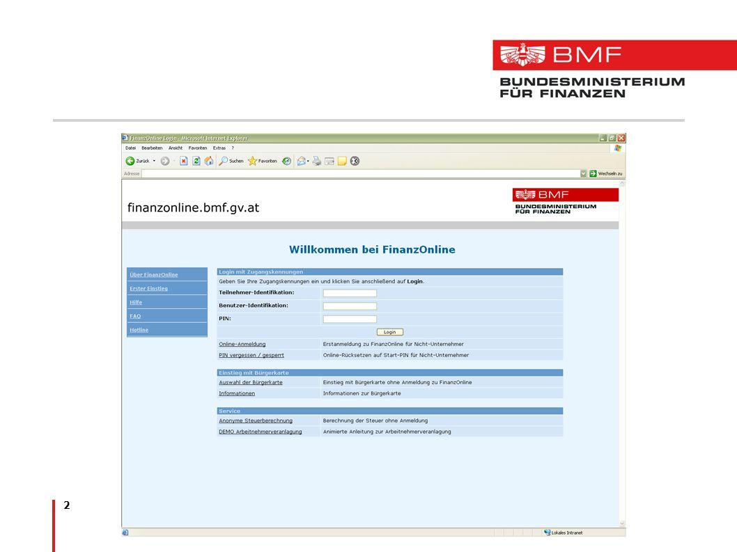 13 Legistik Grundsatzbestimmungen in der Bundesabgabenordnung (BAO) -Nähere Regelung in der FinanzOnline-Verordnung Grundsatzbestimmungen zur elektronischen Übermittlung in den einzelnen Steuergesetzen -Nähere Regelung durch Verordnungen