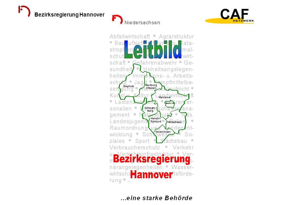 Bezirksregierung Hannover Ergebnis der Selbstbewertung
