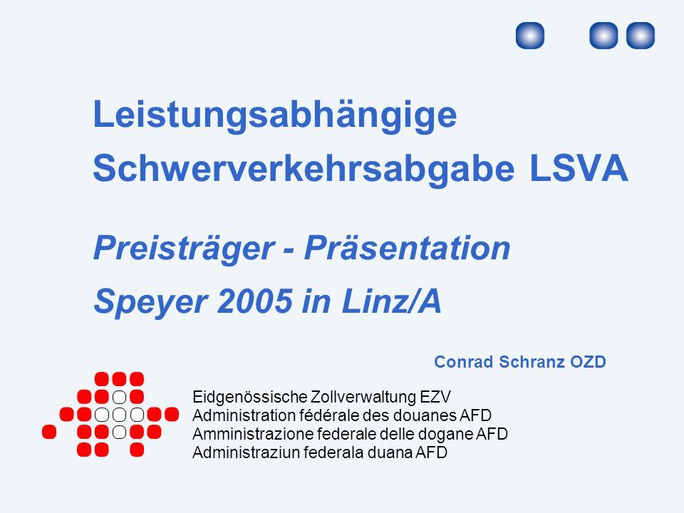 2 Übersicht Das Referat ist in folgende Bereiche aufgeteilt: LSVA (Ausgangslage / Start / Betrieb / Zahlen) Partnerschaft – im Projekt Partnerschaft – im Betrieb Partnerschaft – in der Weiterentwicklung