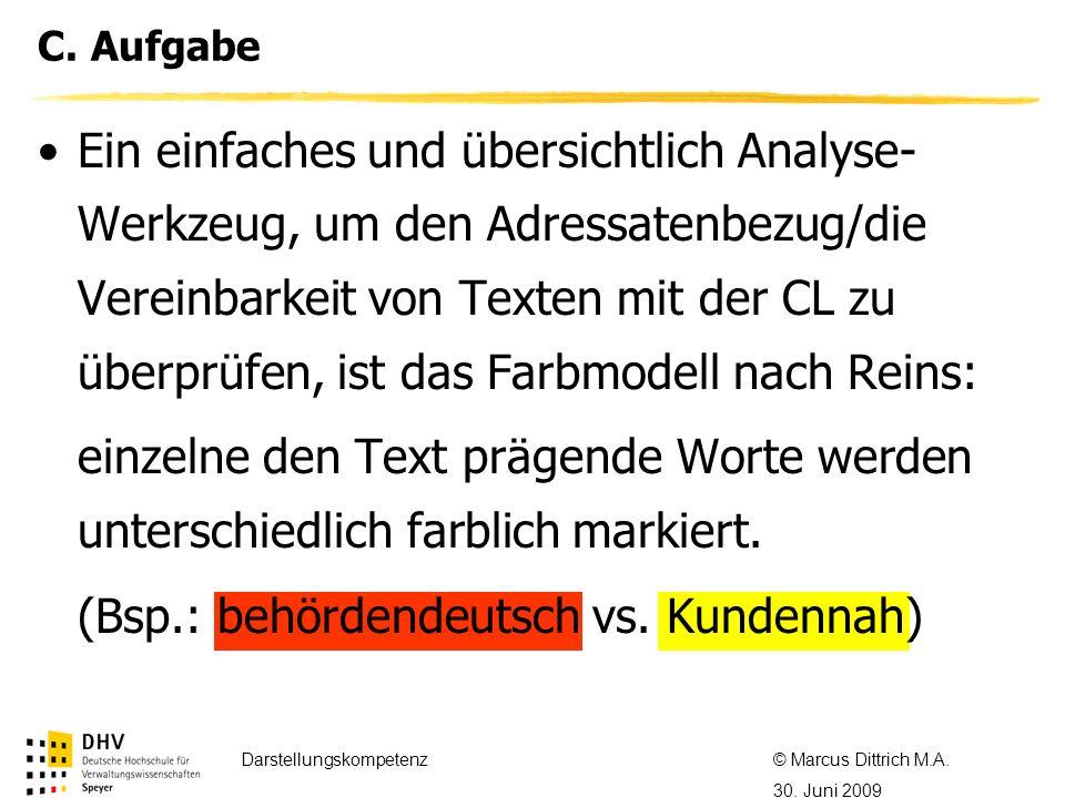 © Referent / Referentin Datum Thema des Referats C.