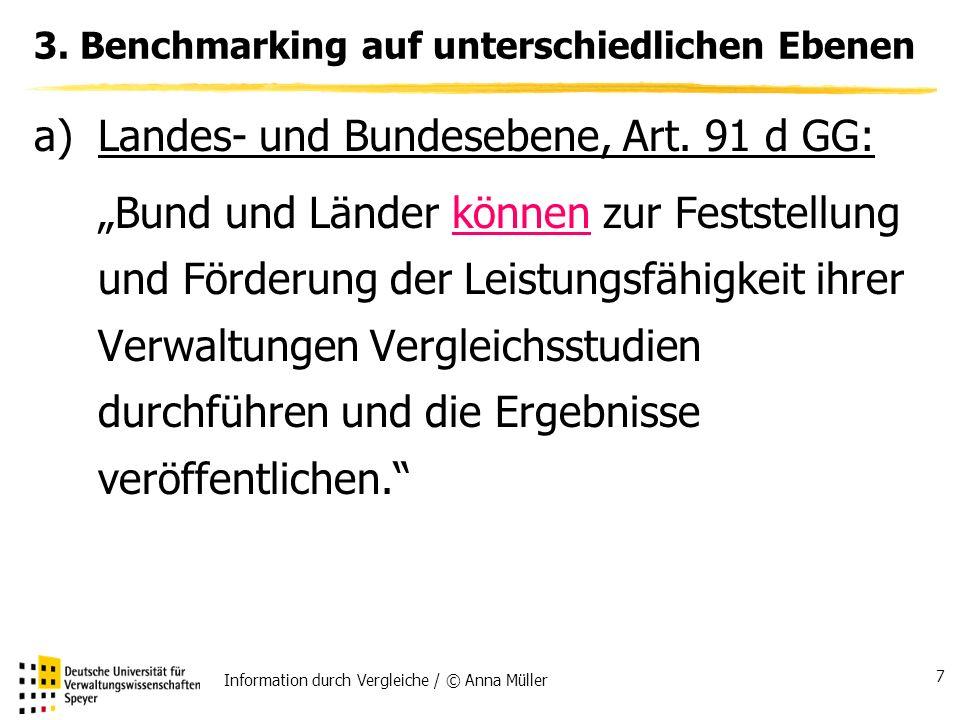 Information durch Vergleiche / © Anna Müller 7 3.