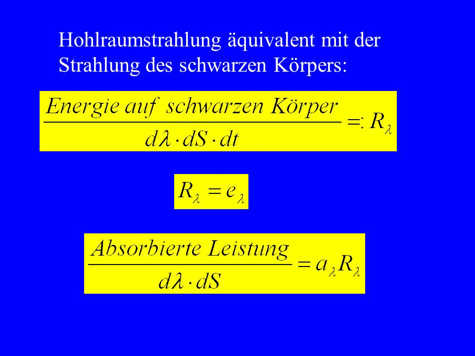 Literaturangaben (1)G.L.Trigg, Experimente der modernen Physik, Vieweg, Braunschweig, 1975 (2)M.