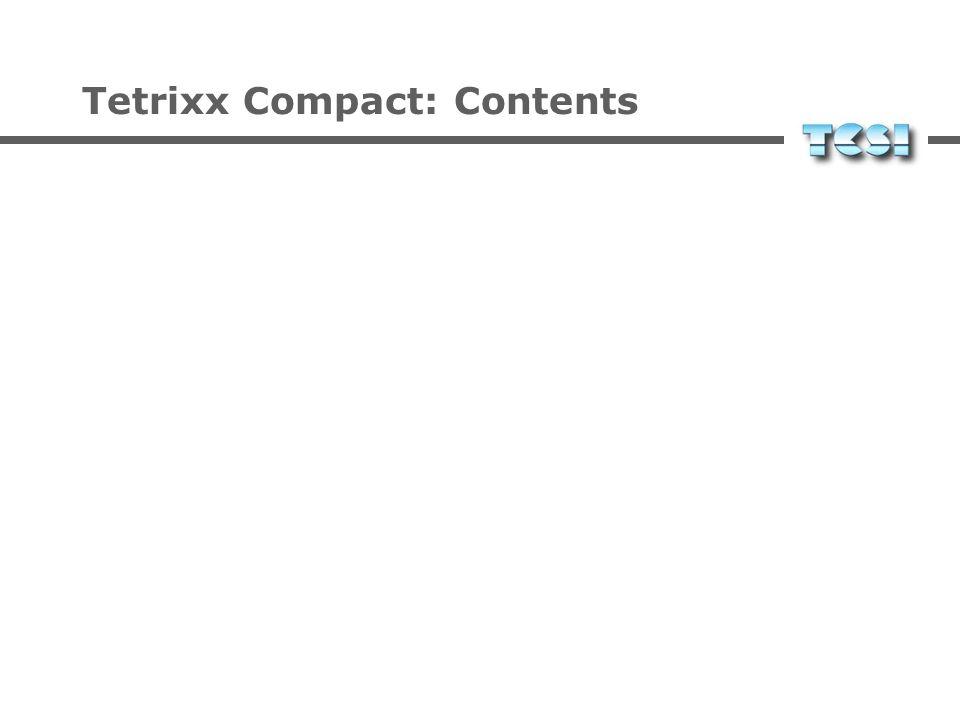 Tetrixx Programming Example