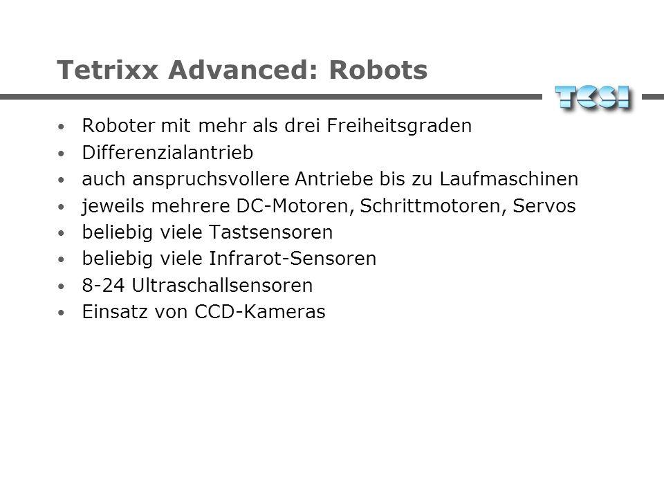 Tetrixx Advanced: Contents