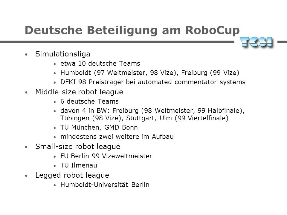 RoboCup Pictures