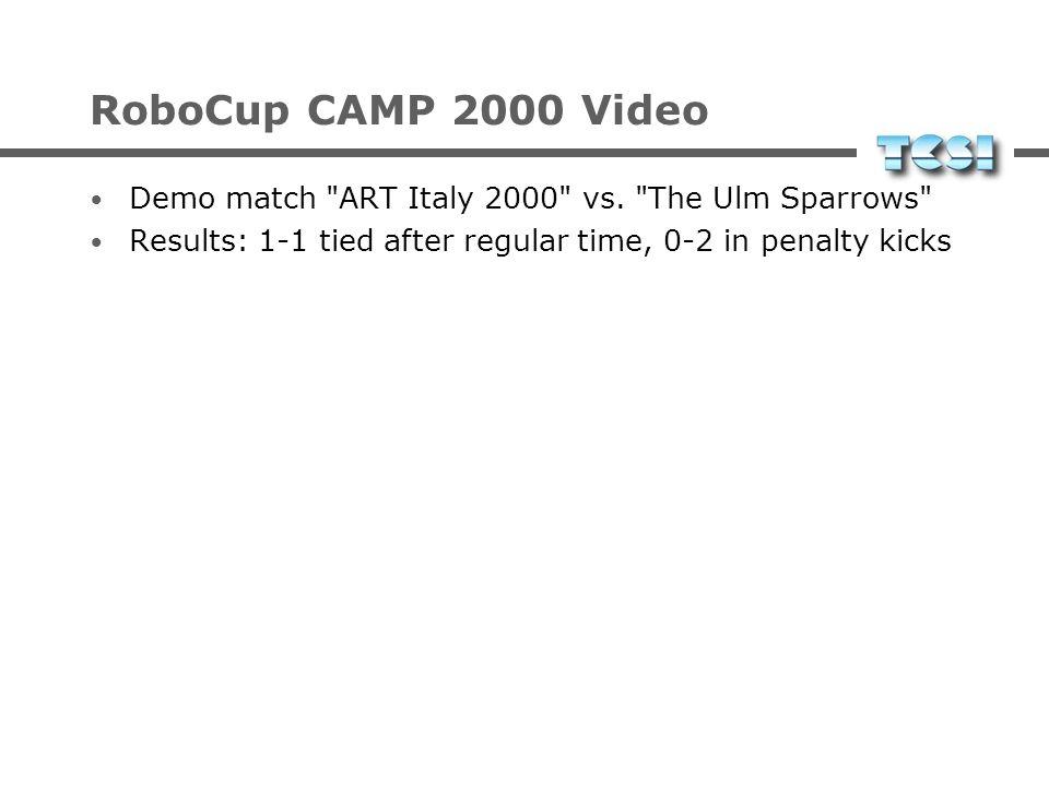 Neue Aktivitäten RoboCup Humanoid League Fußball mit humanoiden Robotern 2001 erster Demonstrationswettbewerb RoboCup Rescue Simulation von Erdbeben u