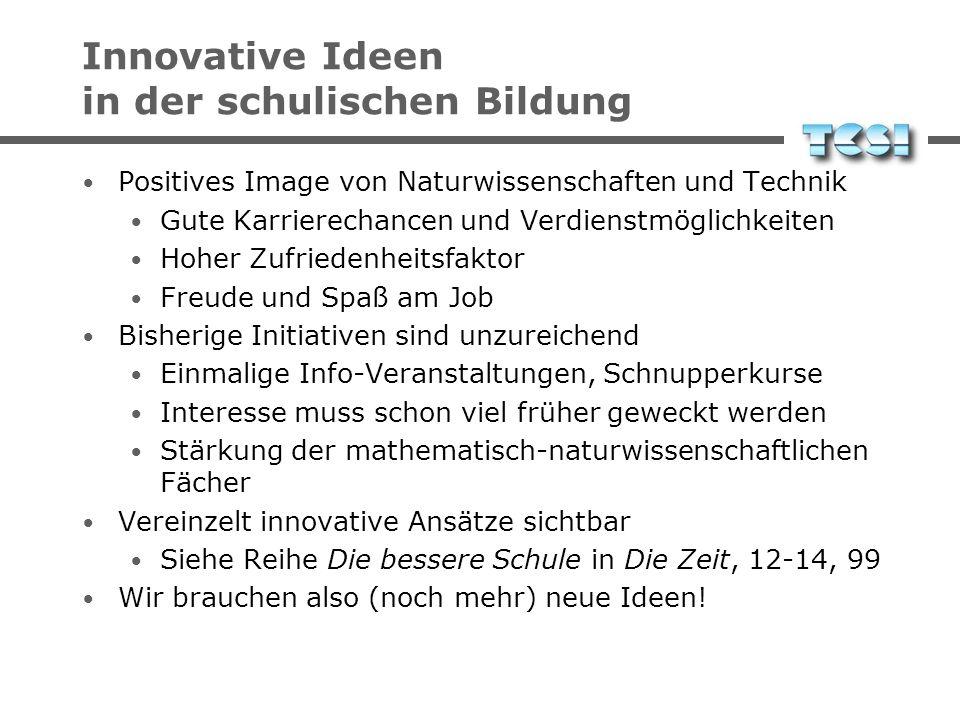 Reaktionen Schüler müssen an den Computer Bund: Schulen ans Netz, Initiative D21 BW: Online-Forum Medienpädagogik BY: Bildungsoffensive Bayern, Offene