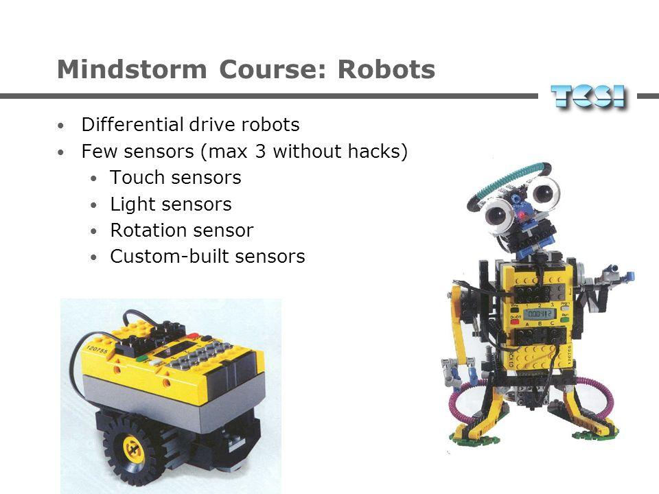 Mindstorm Course: Programming