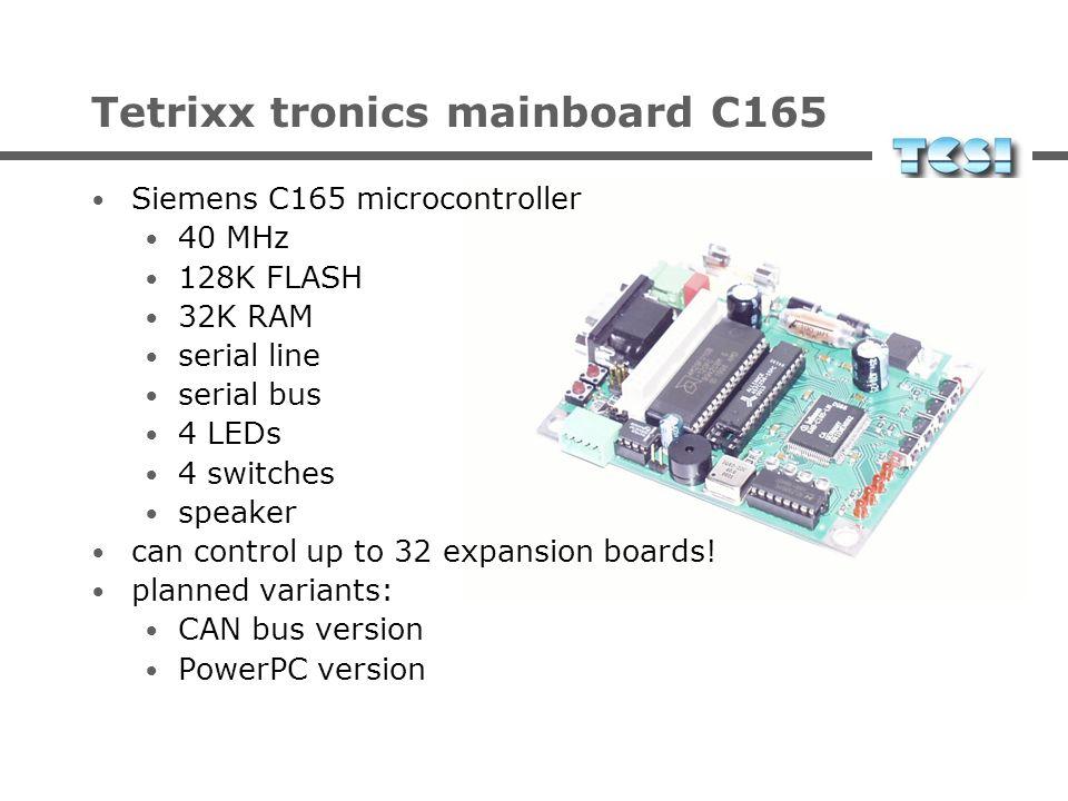 Tetrixx tronics Programmierbare Microcontroller-Boards Modulare Erweiterungsplatinen für Sensoren und Motoren Spezifikation und Design durch Wonderbit