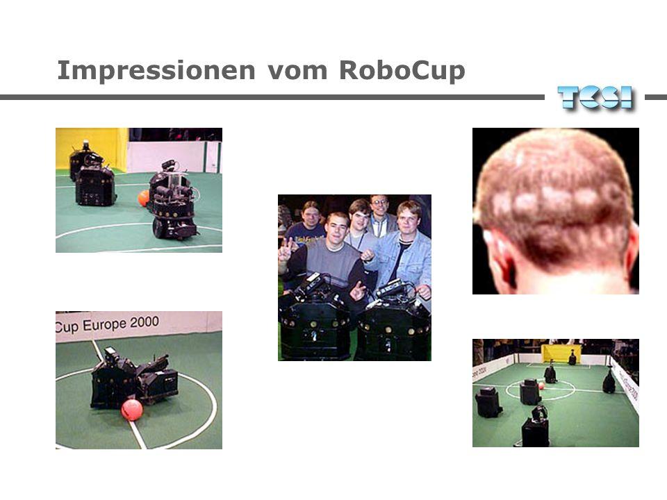 Impressionen vom RoboCup