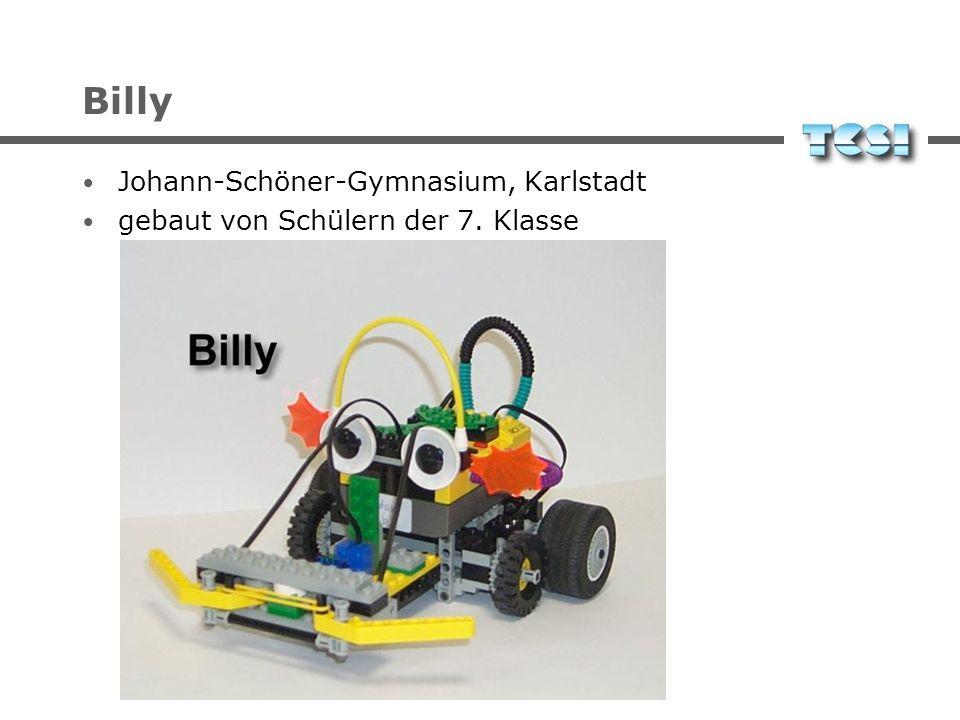 Billy Johann-Schöner-Gymnasium, Karlstadt gebaut von Schülern der 7. Klasse