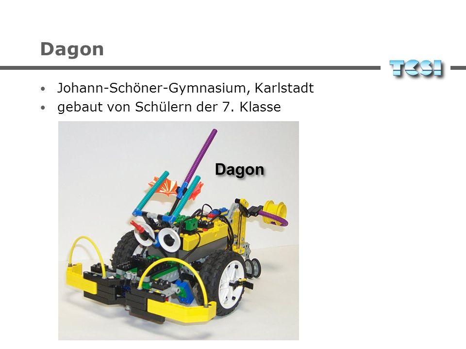 Dagon Johann-Schöner-Gymnasium, Karlstadt gebaut von Schülern der 7. Klasse
