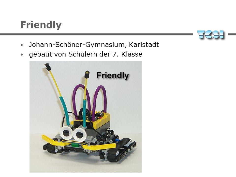 Friendly Johann-Schöner-Gymnasium, Karlstadt gebaut von Schülern der 7. Klasse