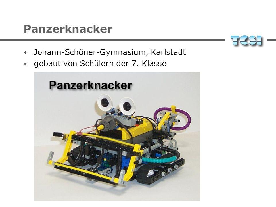 Panzerknacker Johann-Schöner-Gymnasium, Karlstadt gebaut von Schülern der 7. Klasse