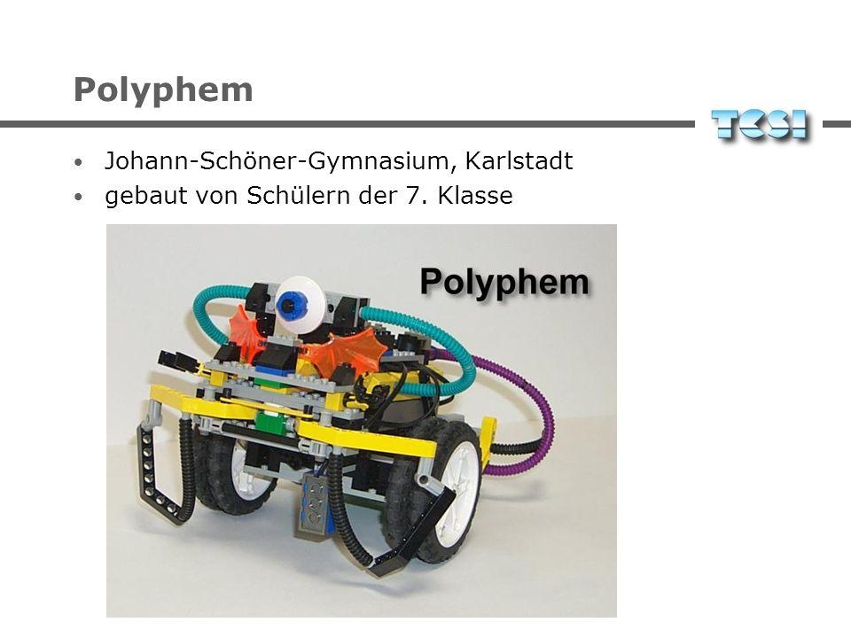 Polyphem Johann-Schöner-Gymnasium, Karlstadt gebaut von Schülern der 7. Klasse