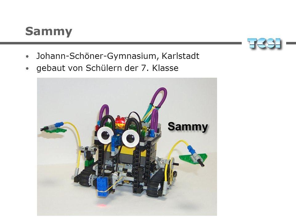 Sammy Johann-Schöner-Gymnasium, Karlstadt gebaut von Schülern der 7. Klasse