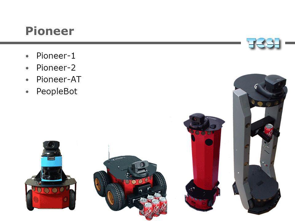 Pioneer Pioneer-1 Pioneer-2 Pioneer-AT PeopleBot