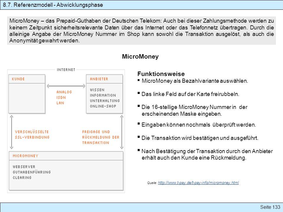 MicroMoney MicroMoney – das Prepaid-Guthaben der Deutschen Telekom: Auch bei dieser Zahlungsmethode werden zu keinem Zeitpunkt sicherheitsrelevante Da