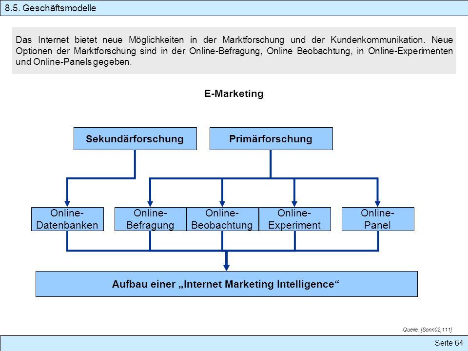 Das Internet bietet neue Möglichkeiten in der Marktforschung und der Kundenkommunikation. Neue Optionen der Marktforschung sind in der Online-Befragun