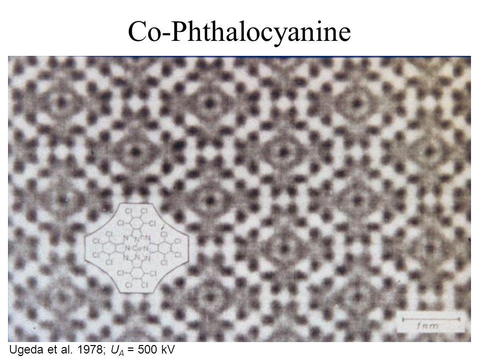 Co-Phthalocyanine Ugeda et al. 1978; U A = 500 kV