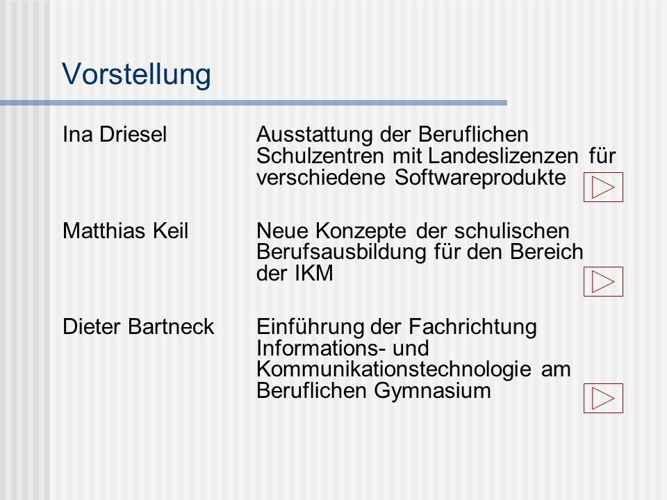 Schulversuch zur Einführung der Fachrichtung Informations- und Kommunikationstechnologie (EFI) 1998Beginn an zwei Standorten in Rodewisch und Schwarzenberg 2001 erste Abiturprüfung in der neuen Fachrichtung Ausweitung auf insgesamt 11 Standorte 2003Überführung in die Regelausbildung Reaktion auf den Fachkräftebedarf in der Informationsgesellschaft