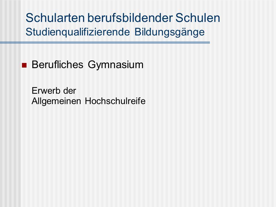 lernfeldstrukturierte Lehrpläne 6-wöchiges Betriebspraktikum je Klassenstufe Arbeitsprobe/Prüfungsstück Abschlussprüfung mit Nachweis beruflicher Handlungskompetenz (gestreckte Abschlussprüfung) Ab Schuljahr 2006/2007