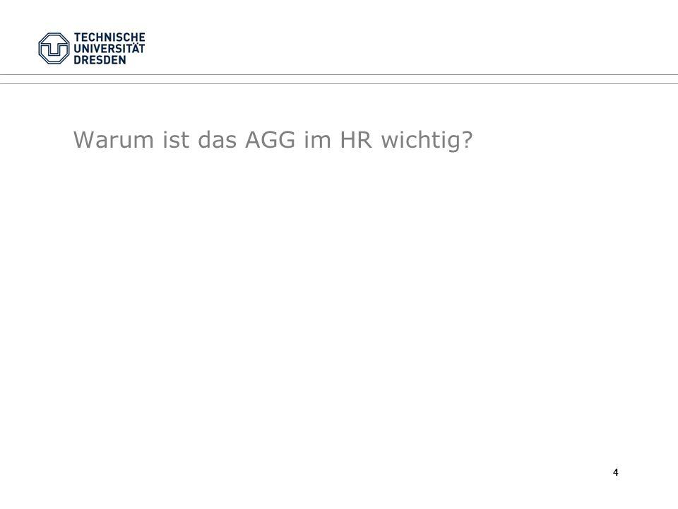 Warum ist das AGG im HR wichtig? 4