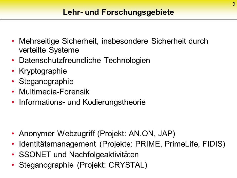 163 Elektronisches Codebuch (ECB) Ver- schlüsse- lung Ent- schlüsse- lung Schlüssel Klartext- block n Schlüsseltext- block n n+1 Bitfehler nn