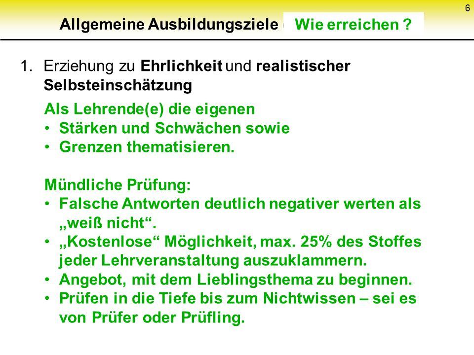 186 Schwellwertschema (2) k Teile (x j, q(x j )) (j = 1...