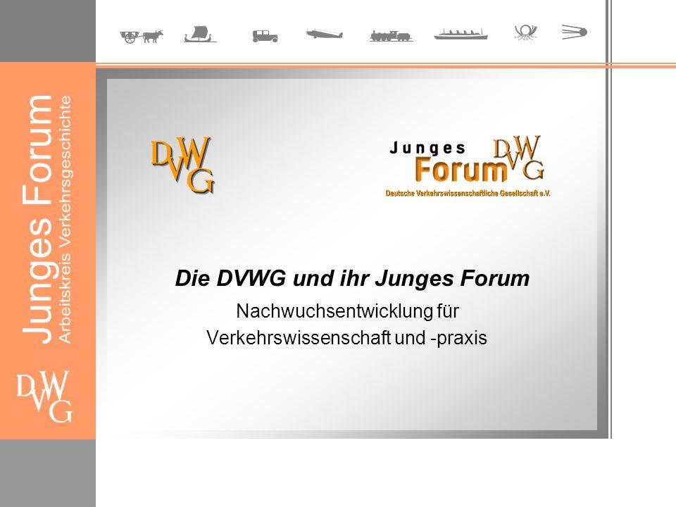 Die DVWG ist die Nachfolgeorganisation des 1908 in Berlin gegründeten Wissenschaftlichen Vereins für Verkehrswesen.