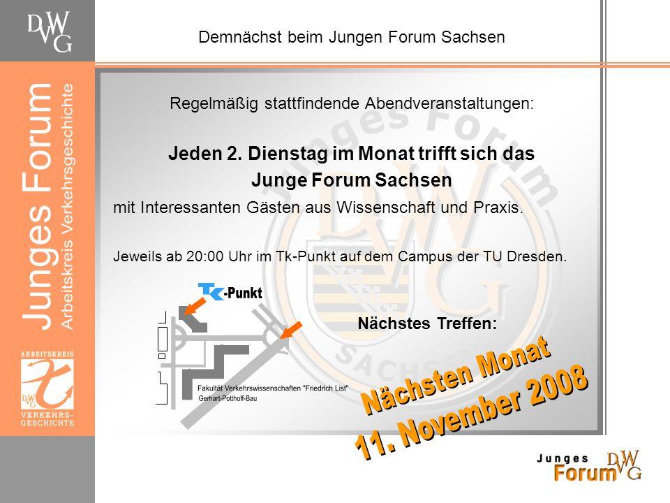Abschluss der Veranstaltung Das DVWG-Seminar Verkehrsgeschichte findet im Rahmen des studium generale an der TU Dresden statt.