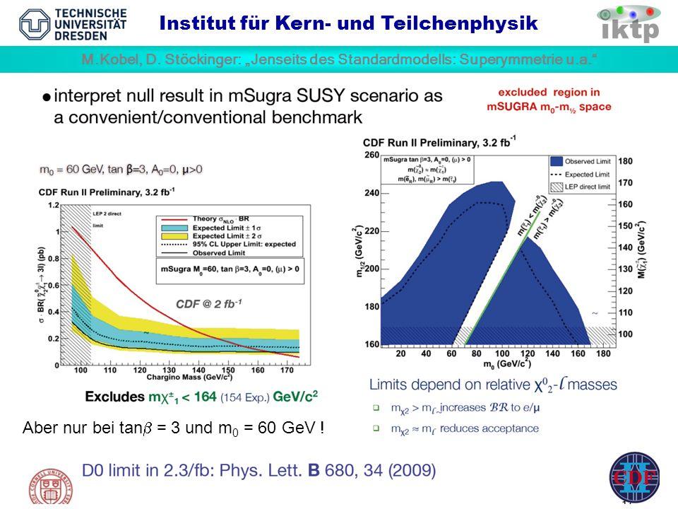 M.Kobel, D. Stöckinger: Jenseits des Standardmodells: Superymmetrie u.a.
