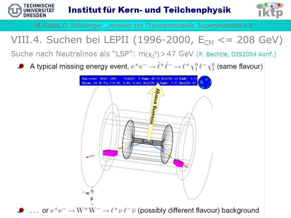 M.Kobel, D.Stöckinger: Jenseits des Standardmodells: Superymmetrie u.a.