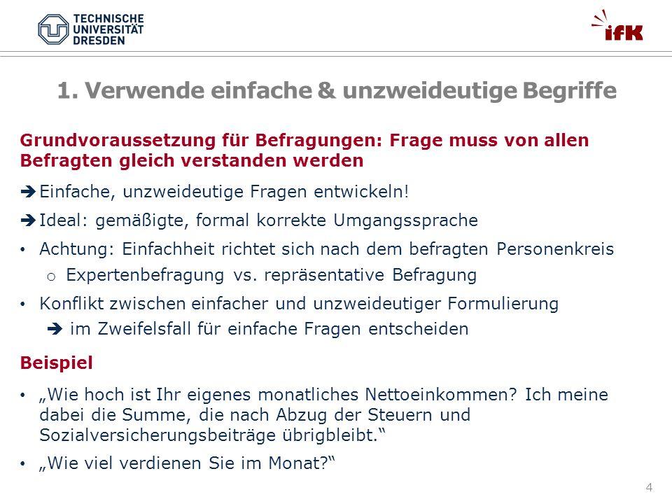 55 Ergebnisse unterschiedlicher Befragungsmodi TV ist… Schweiger, W.