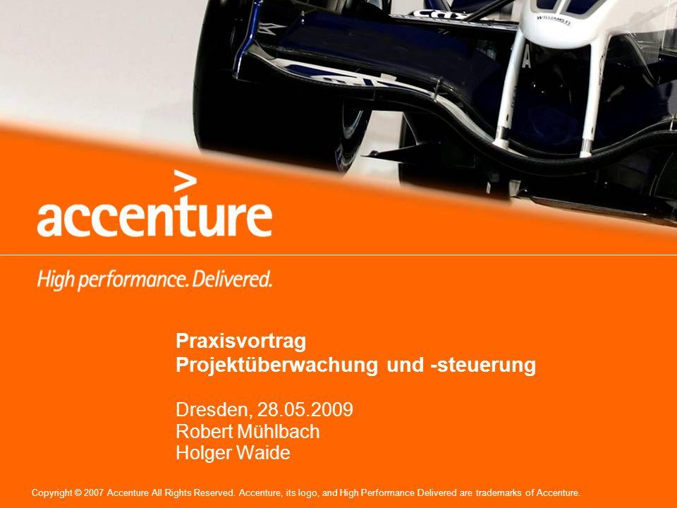 2 Copyright © 2009 Accenture All Rights Reserved.2 Wer ist eigentlich Accenture.