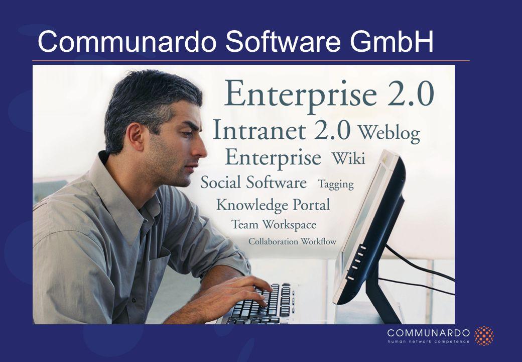 Communardo Software GmbH Lösungen aus Leidenschaft für Netzwerke