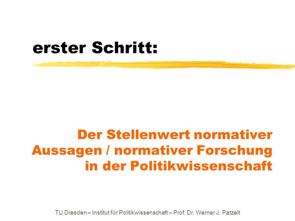 Themenfeld III: Wie wird im politischen Streit dafür gesorgt, dass Werte in Geltung bleiben bzw.