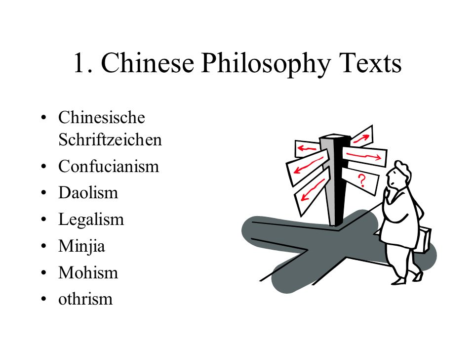 1. Chinese Philosophy Texts Chinesische Schriftzeichen Confucianism Daolism Legalism Minjia Mohism othrism