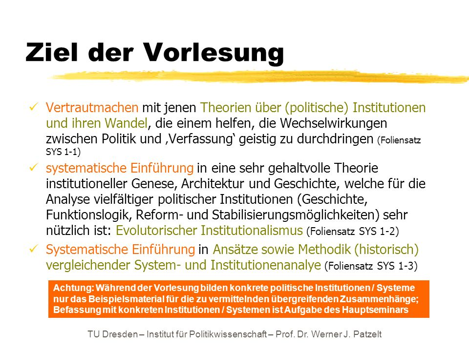 Verfassungskreisläufe Leitgedanken / Beobachtungen: Sogar gute Ordnungen / bewährte institutionelle Formen werden, wenn sie denn einmal entstanden sind / stabil sind, immer wieder schlecht genutzt / übernutzt / zum Schlechteren reformiert.