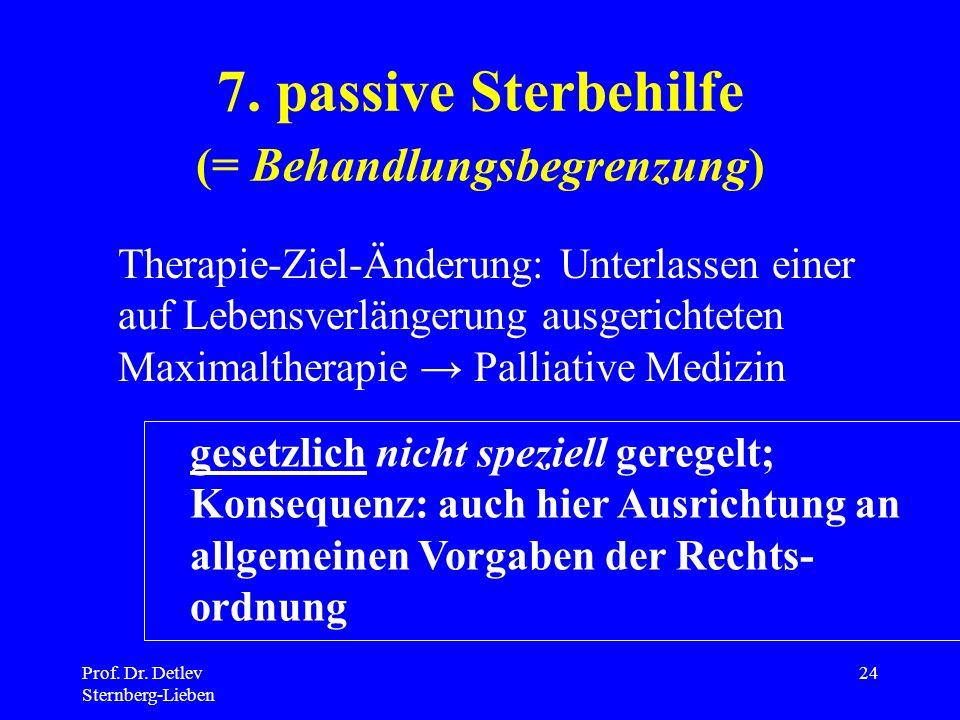 Prof.Dr. Detlev Sternberg-Lieben 24 7.