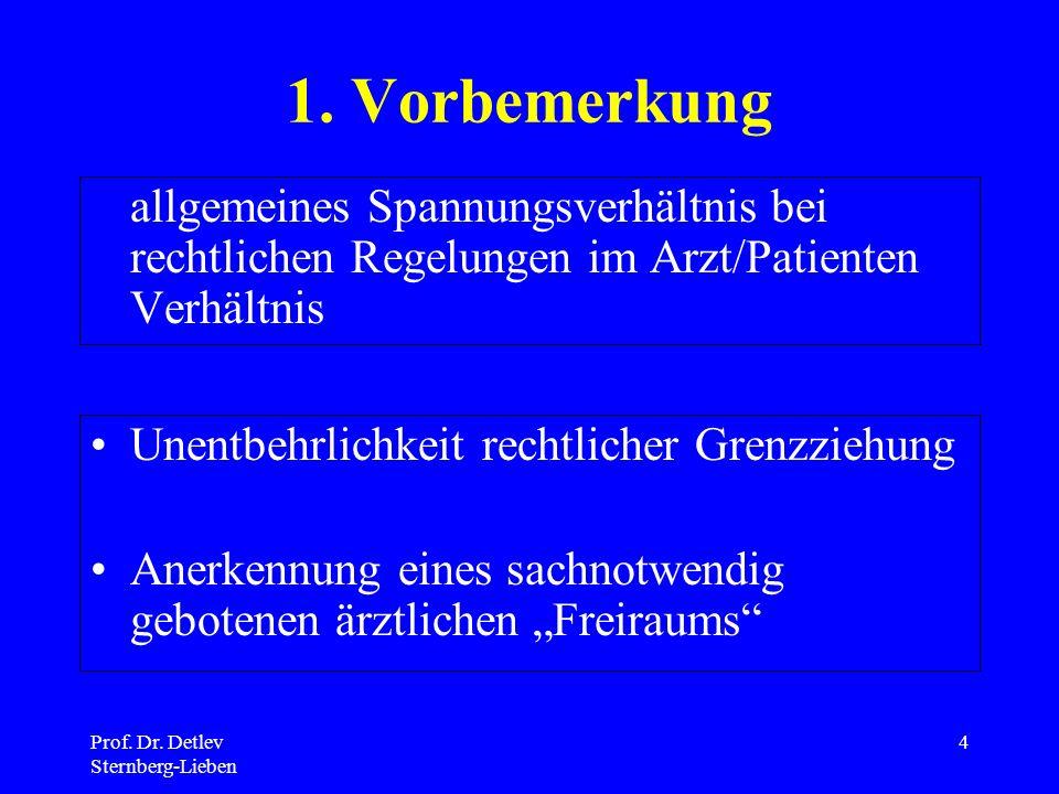 Prof.Dr. Detlev Sternberg-Lieben 4 1.