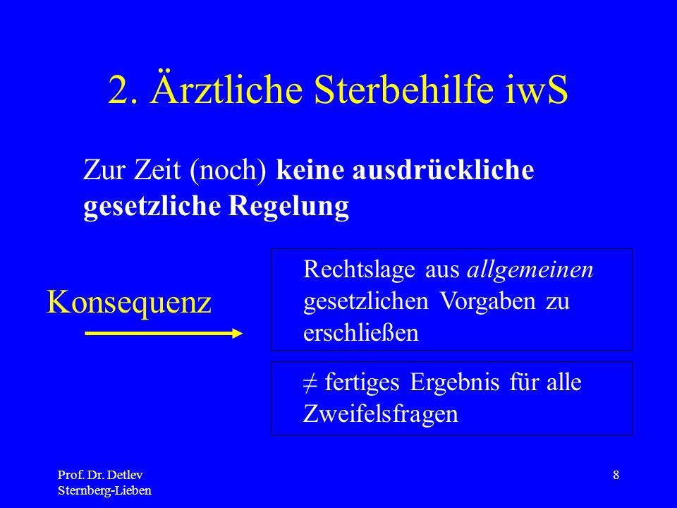 Prof.Dr. Detlev Sternberg-Lieben 8 2.