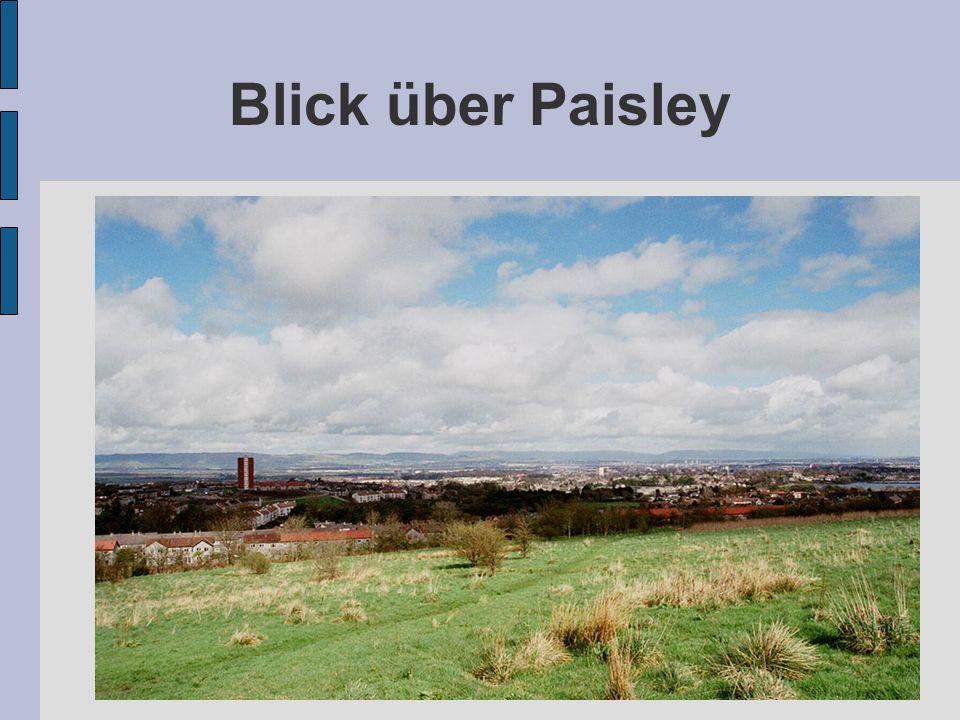 Blick über Paisley