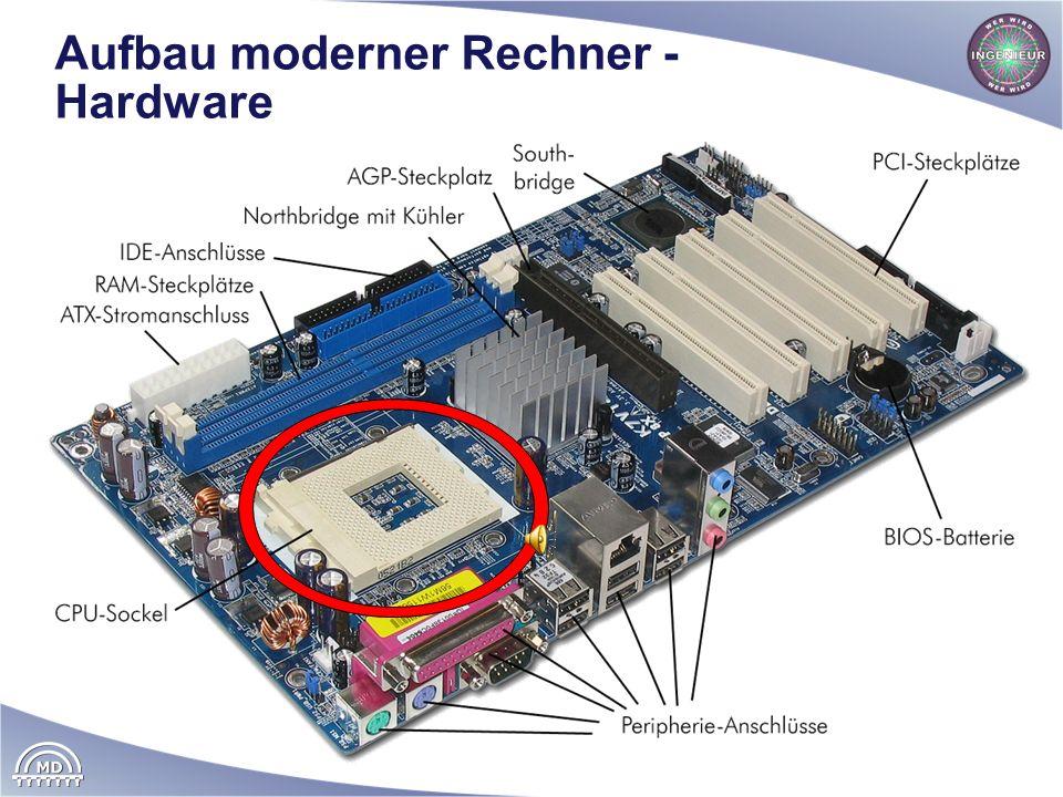 Aufbau moderner Rechner - Hardware