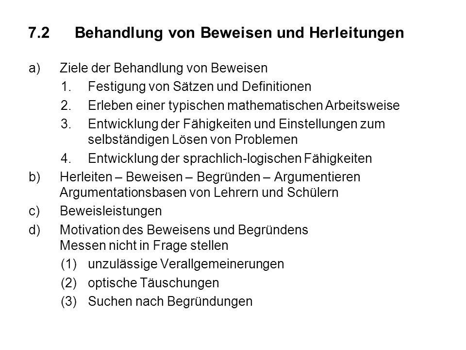 e)Heuristische Vorgehensweise zum Finden von Beweisideen s.